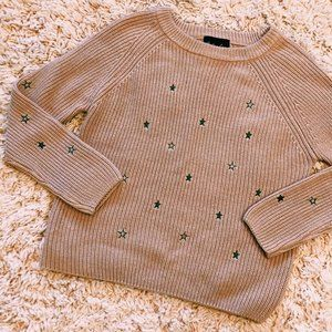 Endless Love Dusty Pink 100% Cotton Star Sweater